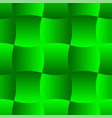 3d curve tile seamless pattern green 001 vector image vector image
