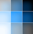 Blue squares abstract background vector image vector image