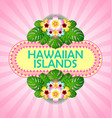 document background in polynesian style vector image vector image