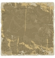 Grunge texture vintage background vector image vector image