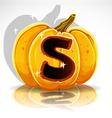Halloween Pumpkin S vector image vector image