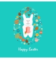 Happy easter 15 vector image vector image