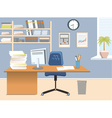 Interior office room vector | Price: 3 Credits (USD $3)
