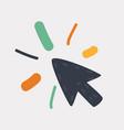 mouse icon design vector image