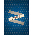 Restaurant card menu design vector image vector image