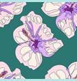 seamless bright summer pattern with different vector image
