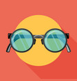 sunglasses icon flat vector image vector image