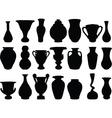 vase 2 vector image vector image