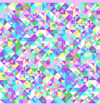 abstract seamless triangle tile pattern vector image vector image
