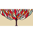 Colorful tree concept for banner vector image vector image