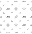 drive icons pattern seamless white background vector image vector image