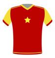 flag t-shirt of vietnam vector image
