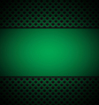 green grill texture background vector image vector image
