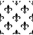 Seamless fleur-de-lys wallpaper vector image