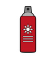 sunscreen bottle icon image vector image vector image
