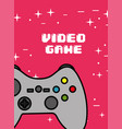 video game classic vector image vector image