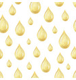 watercolor seamless pattern with oil drops vector image vector image