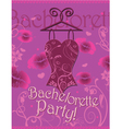 Wrapping gifts corset bachelorette party vector image vector image