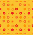 abstract background seamless pattern made with vector image vector image