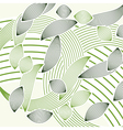 abstract green foliage vector image vector image