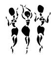 African Beautiful Women vector image