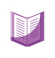 book and education vector image vector image