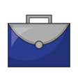 business briefcase work office icon vector image