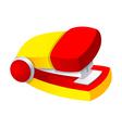 icon stapler vector image vector image