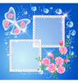 magic background vector image vector image
