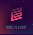 20 anniversary night party - electronic music vector image