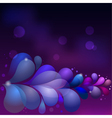 Abstract background with colored drops eps10 vector image vector image
