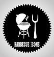 barbecue design vector image vector image