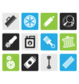 Black Realistic Car Parts and Services icons vector image vector image