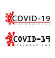 coronavirus 2019-ncov infographic icon corona vector image