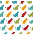 cute cat mascot icon vector image vector image