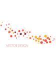 festive multicolored circles vector image vector image