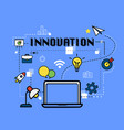 Innovation graphic for business concept