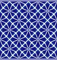 porcelain pattern design vector image vector image