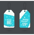 Set price tag with ribbons and labels vector image vector image