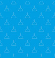 table call pattern seamless blue vector image vector image