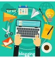 Blogging Concept vector image