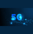 5g network wireless systems and internet all vector image vector image