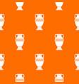 ancient jug pattern seamless vector image vector image