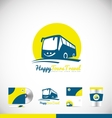 Bus logo icon design