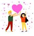 couples romantic day vector image