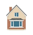 Detailed house icon vector image