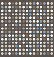 dots retro texture vector image