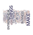entrepreneur website text background word cloud vector image vector image