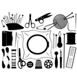 gobelin equipment vector image