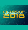 graduation label text for graduation design vector image vector image
